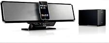 Philips DC912 Shelf Bar 100-Watt Audio System with Wireless Subwoofer for iPod