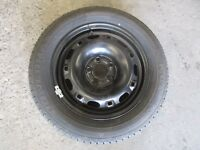GENUINE 2006 Volkswagen Polo Club 9N 02-10 SPARE TYRE WITH RIM  KUMHO 185/60R14