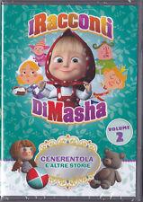 DVD • I Racconti di Masha  VOL 2 Cenerentola e altre Storie NUOVO SIGILLATO ITA