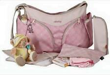 okiedog Biscotti Mondo Nappy / Diaper Bag Pink 36001