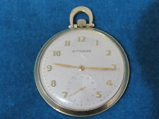 Vintage Wittnauer 17Jewel, 10K Goldfilled Pocketwatch 12 SIZE CASE 43 MM