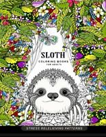 Sloth coloring book for adults Animal Coloring Books for Adults