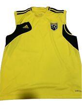 "Columbus Crew  ""The Crew"" Sleeveless Training Top Adidas Climacool Medium MLS"