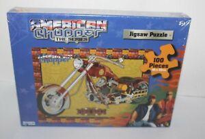 American Chopper The Series Fire Bike Jigsaw Puzzle 100 Brand New Crown Age 3+