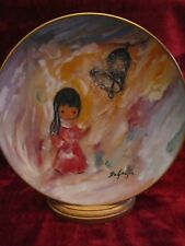 BELL OF HOPE collector plate TED DeGRAZIA Christmas Holidays