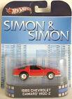 1/64 Hot Wheels Retro Simon & Simon 1985 Chevrolet Camaro Iroc-Z