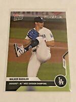 2020 Topps Now Baseball Postseason Card - Walker Buehler - Los Angeles Dodgers