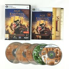 Age of Empires 3 III + The War Chiefs + Asian Dynasties Jeu PC L'INTEGRALE Gold