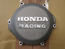 Honda Racing CR250 CR 250 Clutch Inspection Cover Sand Cast 1987 - 2001 Silver