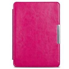 for Amazon Kindle Paperwhite Samrt Sleep Wake PU Hand Strap Leather Case Cover
