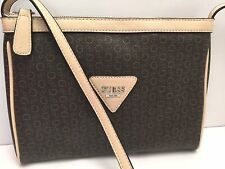 GUESS XBody Messenger Bag*Brown Natural Engagement*G Logo Print Shoulder Purse