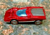 HOT WHEELS VINTAGE REDLINE 1970  FERRARI 512S (RESTORED) HONG KONG