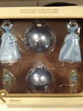 Disney Store Cinderella Bauble Xmas Tree Decorations X6 Ornament