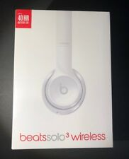 Beats by Dr Dre Solo 3 Wireless Bluetooth Headphone [ Gloss WHITE Edition ] NEW