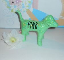 Victoria's Secret Pink Limited Edition 2013 Iridescent Dog Green NWT RARE