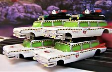 4 body lot of Ghostbusters Ecto-1 1959 Cadillac Bodies ho slot car 4 Gear slimed