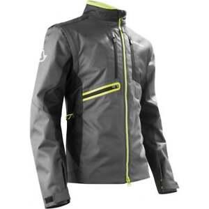 Acerbis Adults Enduro One Off Road Green Lane Motor Bike Jacket - Black/ Yellow