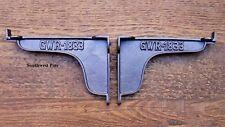 "Pair Of Industrial Warehouse GWR 1833 Style Cast Iron Shelf Brackets 6"" Deep"