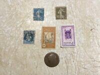 1791 L France 12 Denier King Louis XVI Bronze Coin Bayonne Mint STAMP 1852 1944
