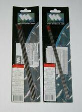 """Weldmark Tig 1/8"""" x 7"""" 2% Thoriated Ground Tungsten - 2 Pack Lot"""