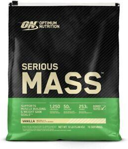 Optimum Nutrition Serious Mass Gainer Protein Powder - 6lb / 12lb Sizes