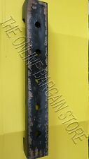 Rustic Distressed Tin Wine Bottle Holder Storage Wall Mount Ledge Rail Black