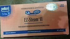 """Pellon EZ-STEAM 2 ~ FUSIBLE WEB ~ 12"""" x 2 yards #EZ2D50"""