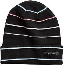 NWT Licensed Billabong Striped Cuffed Beanie Hat FRESH! LAST ONES!