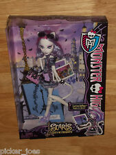 NEW 2012 Mattel MONSTER HIGH Scaris CATRINE DEMEW Werecat Artist Doll HTF!