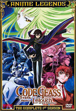 Code Geass: Lelouch of the Rebellion - Season One (DVD, 2011, 6-Disc Set)