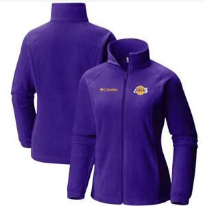 Los Angeles Lakers Columbia Women's Benton Springs Full-Zip Jacket – Purple Sz.S