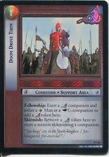 Lord Of The Rings CCG Foil Card SoG 8.U86 Doom Drove Them