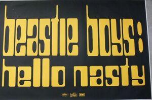 BEASTIE BOYS HELLO NASTY GIANT POSTER