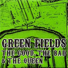 THE GOOD, THE BAD & THE QUEEN - GREEN FIELDS - PROMO CD SINGLE -CARD COVER -MINT