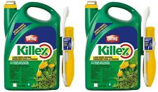 x2 Killex Lawn Weed Dandelion Control Ready to Use 5L Wand 2020 STOCK Herbicide