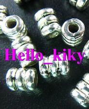 250 Pcs Tibetan silver screw tube spacer beads A158