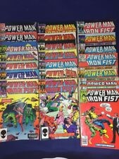 Power Man and Iron Fist 68,81,83,88,90,99,100,110-116,118-124 Marvel 21 Issue
