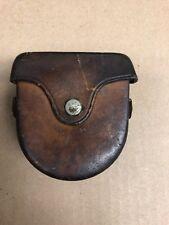 Vintage D.W. Brunton's Pocket Transit Compass with Leather Case USA