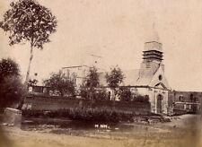 VILLERS-VICOMTE c. 1880 - Eglise Oise