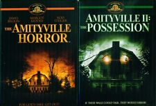 AMITYVILLE HORROR 1 - 2 + The 2005 Remake & The Haunting- NEW 4 DVD