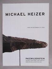 Michael Heizer Art Gallery Exhibit PRINT AD - 2006