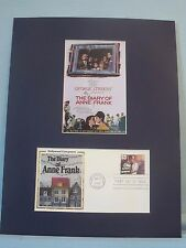 The Diary of Anne Frank  and the First Day Cover honoring Alfred Newman stamp