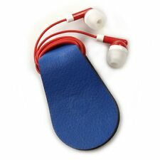Set of 2 Pieces - Gwee Sport Guppy Headphones Cord Wrap/Screen Cleaner - Blue