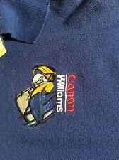 formula 1 shirt - VINTAGE Canon Williams Vintage Polo Shirt (L)