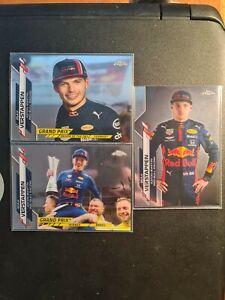 Max Verstappen - Topps Chrome Formula 1 Cards #164 #152 #6 (Lot Of 3)