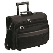 Laptop Trolley Bag Pilot Case Overnight Travel Wheeled Suitcase Business Bags UK