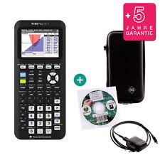 TI 84 Plus CE-T Grafikrechner + Schutztasche Lern-CD Ladekabel Garantie