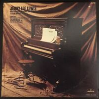 """Jerry Lee Lewis """"Who's Gonna Play This Old Piano"""" 1972 Rock LP,VG+, Orig Mercury"""