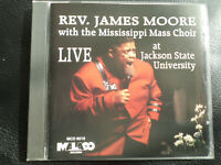 REV.  JAMES  MOORE  with the MISSISSIPPI  MASS  CHOIR -  LIVE , CD  1995 ,GOSPEL