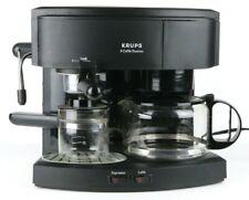 Krups II Coffee & Espresso Machine Caffe Duomo 985-42 Black 8 Cups Tested Works